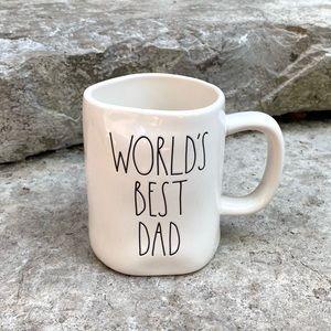 Rae Dunn WORLD'S BEST DAD Ceramic Mug